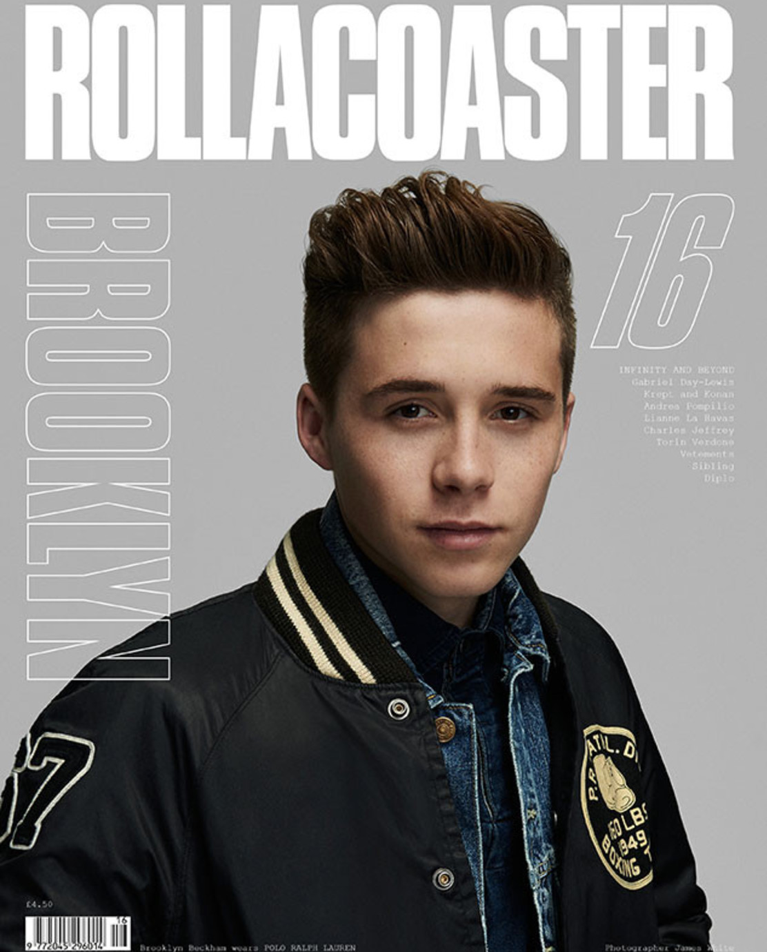Rollacoaster magazine shoots at SHED London photography studio hire